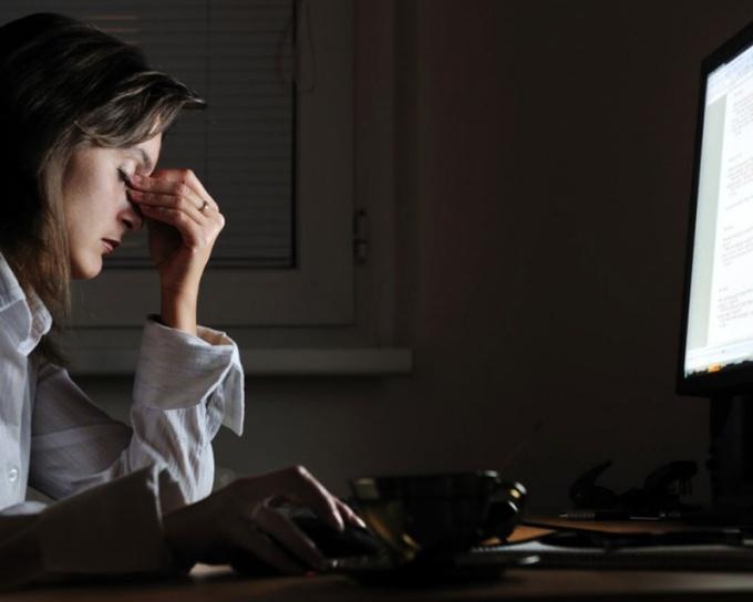 К ночной работе нужно правильно приспособиться