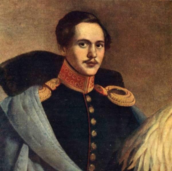 Portrait Of Mikhail Lermontov. Artist F. Budkin