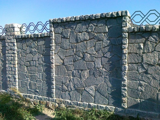 What are the solutions used for masonry stone