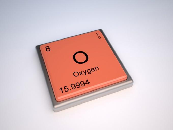 Кислород как химический элемент