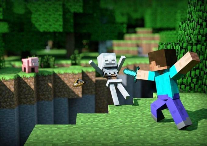 Выживание - один из наиболее интересных режимов Minecraft