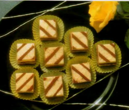 Пирожное «Цюрихские кубики»