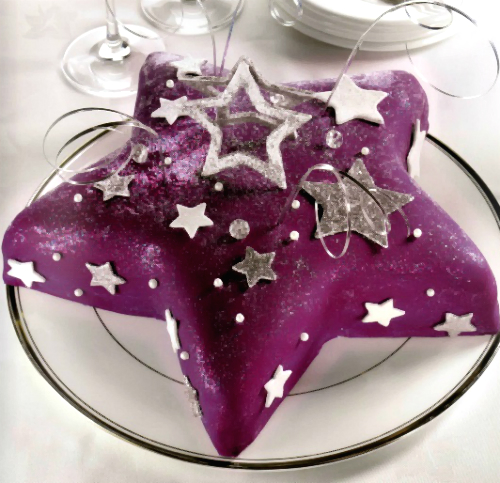 "Cake ""Star explosion"""