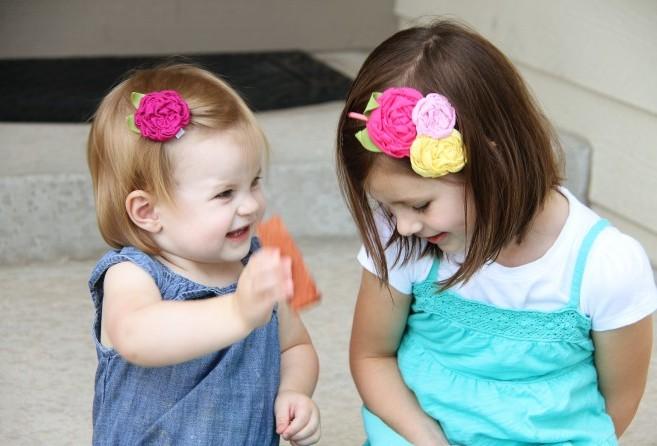 Как сделать украшения на волосы с цветами