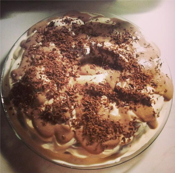 Как готовится шоколадный торт с бананами
