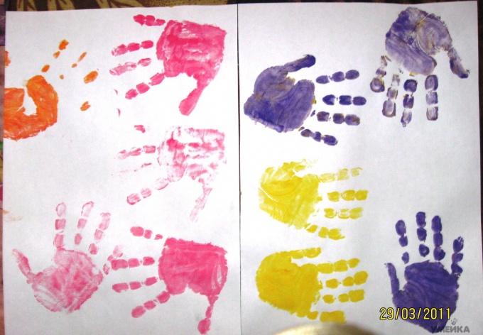 Отпечатки для бумаги своими руками