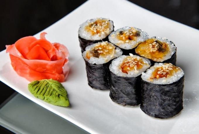 Как приготовить суши: рецепты