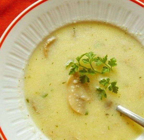 Суп-пюре из картофеля и рыбы