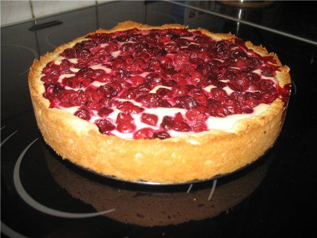 Ягодный пирог в мультиварке рецепты