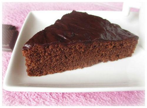Как приготовить шоколадно-гречневый кекс