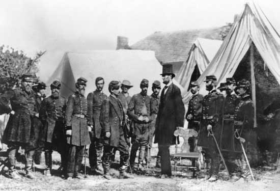 Авраам Линкольн. Война между Севером и Югом.