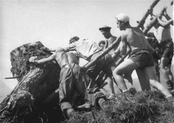 Волонтеры в 1920году