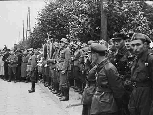 On 22 September 1939. A joint parade of Wehrmacht and red Army in Brest