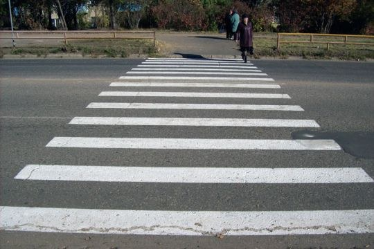 What is the penalty for a pedestrian crossing in the wrong place