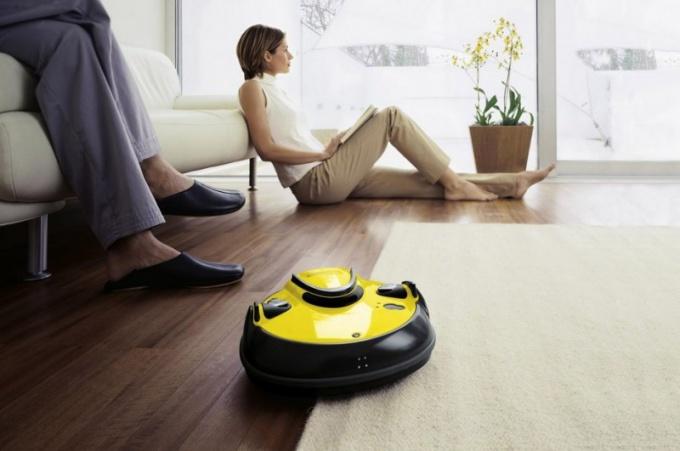 В чем преимущества робота-пылесоса