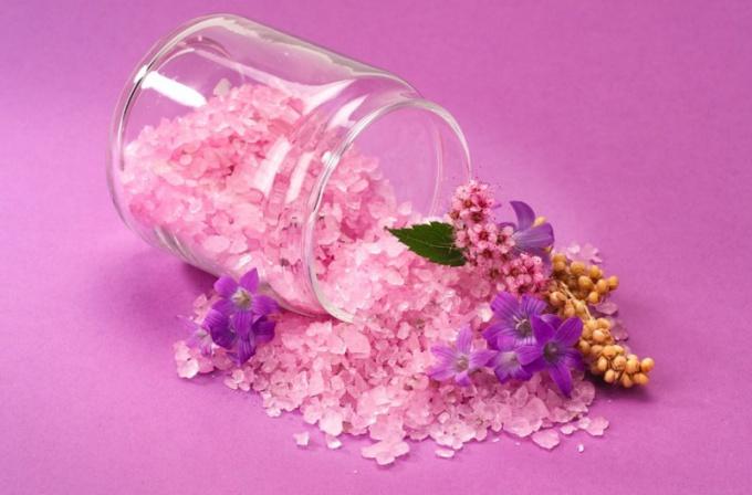 Как сделать скраб из морской соли