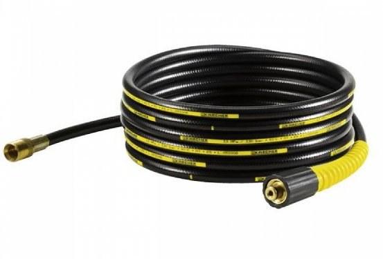 Шланг состоит из резиновой трубки и двух наконечников