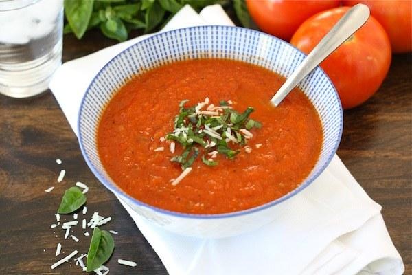 Суп, приготовленный в мультиварке