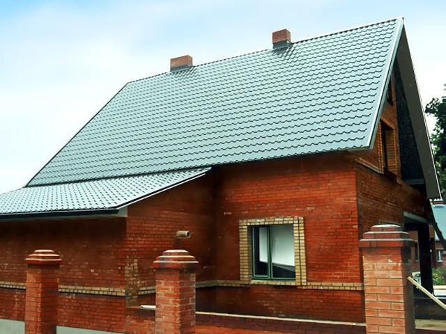 Старую крышу можно перекрыть металлочерепицей