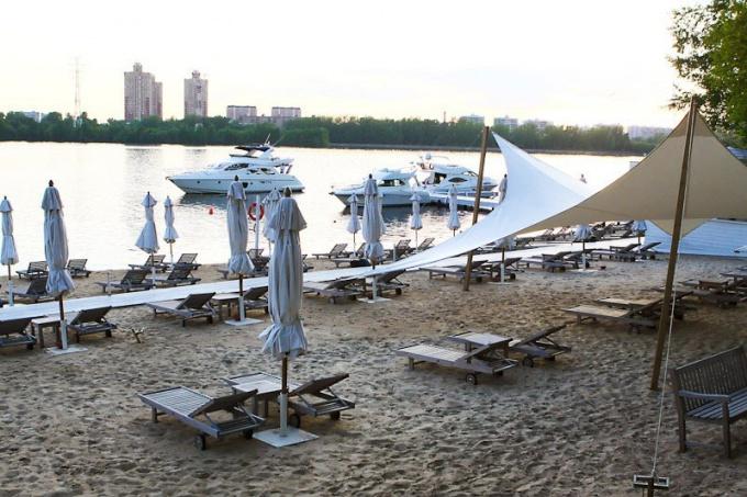 Moscow beach