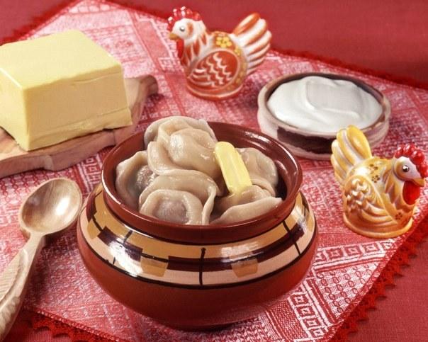 Пельмени - визитная карточка русской кухни