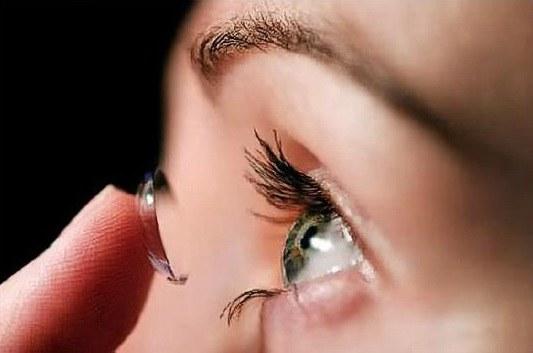 Замена контактных линз