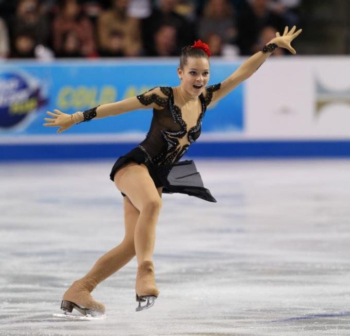 Новая звезда российского фигурного катания Аделина Сотникова