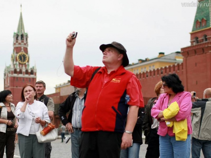 Красная площадь - самое почитаемое иностранцами место в России