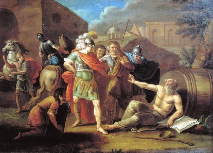 Филипп после победы при Херонее