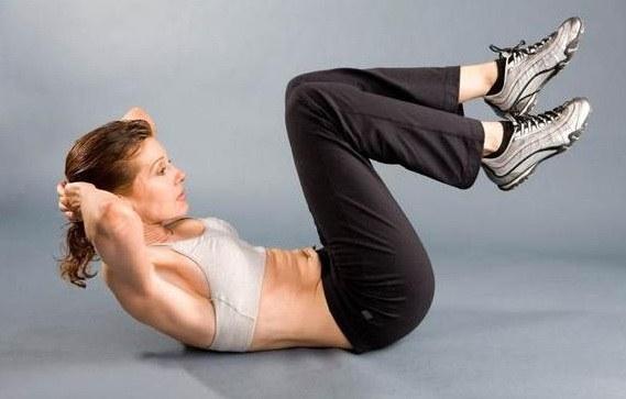 Упражнение для уменьшения талии