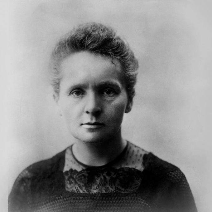 Чем известна Мария Склодовская-Кюри