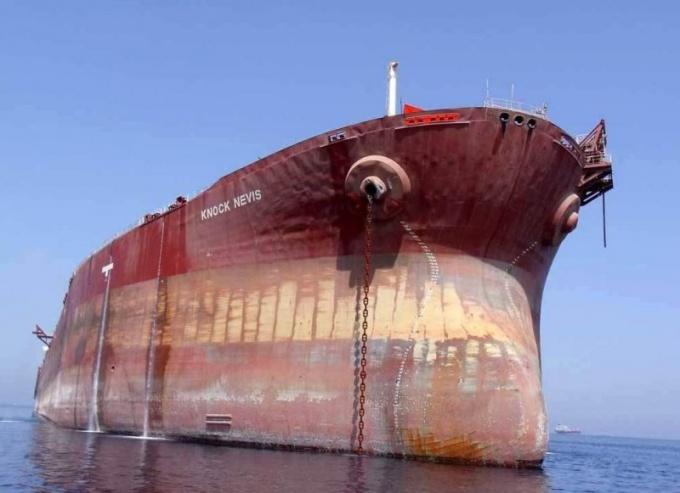Какой корабль самый большой