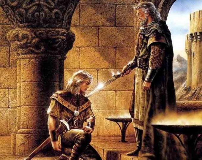 Ритуал посвящения в рыцари - важный этап в жизни мужчины эпохи средневековья.