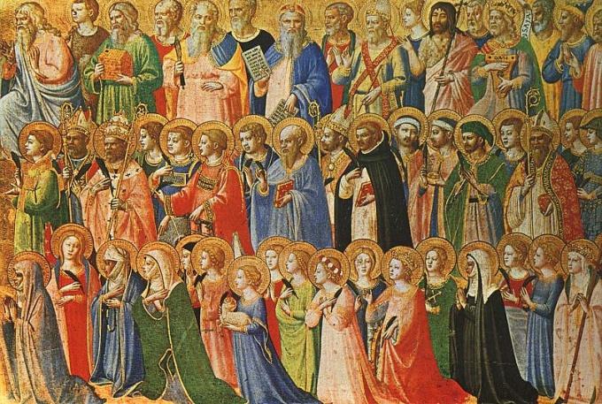 Сонм христианских святых-великомученников