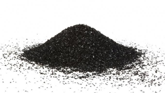 Сажа - одна из аллотропных модификаций углерода