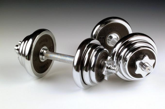 Как подобрать нужны вес гантелей