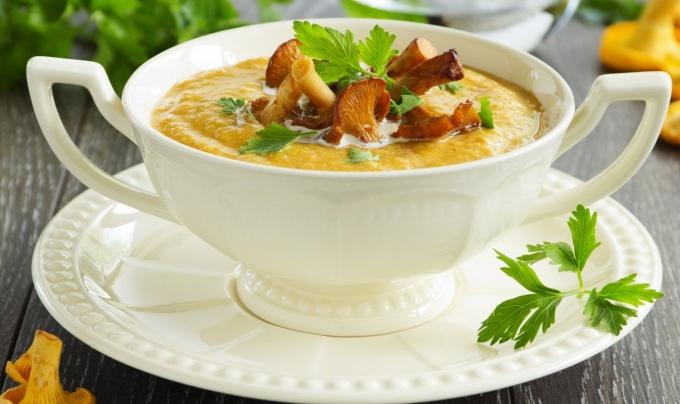 Сливочный тыквенный суп