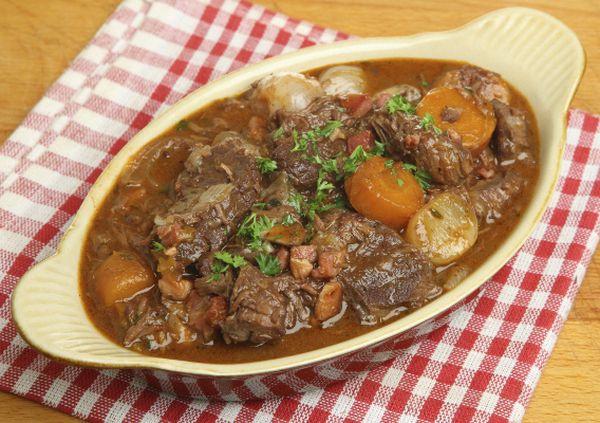 Аппетитное овощное рагу с бараниной