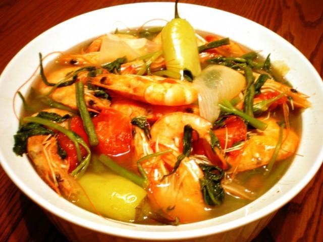 Как приготовить филиппинский рыбный суп