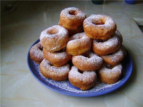 Творожные пончики к чаю - вкусно и быстро