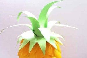Как сделать абажур-ананас?