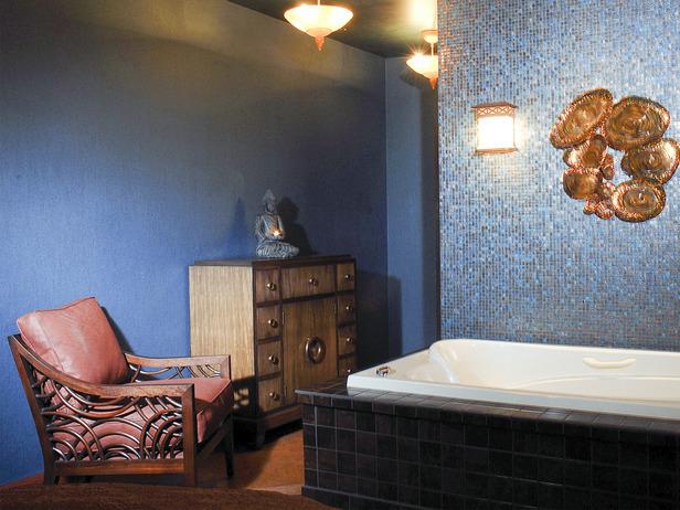 Как оформить ванную в восточном стиле