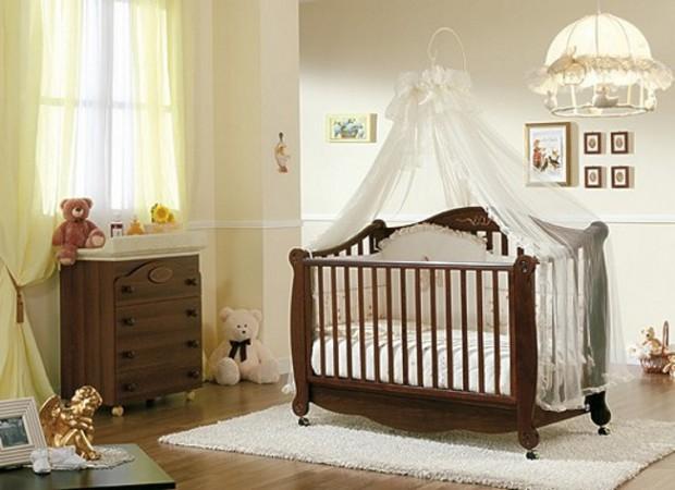 Подготовка комнаты для новорождённого