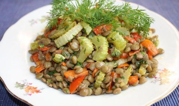 Теплый салат Чи-чи с изумительным вкусом