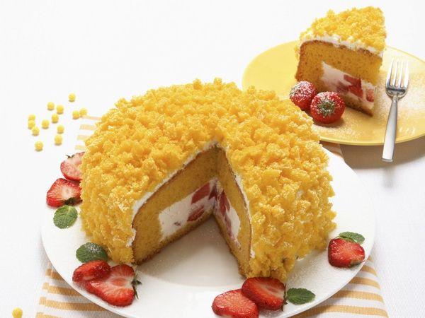 Изумительный торт «Мимоза»