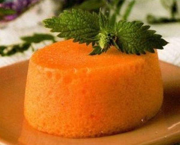 Морковный мусс