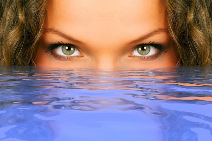 Как передается цвет глаз