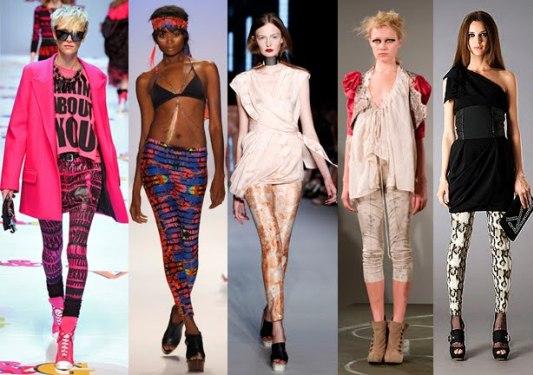 Леггинсы: составляем модный образ