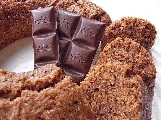 Как приготовить шоколадный манник с халвой