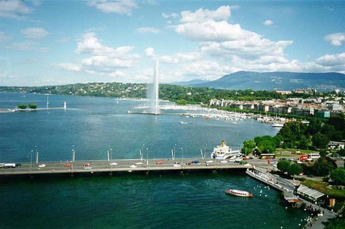 Природа Швейцарии: Женевское озеро